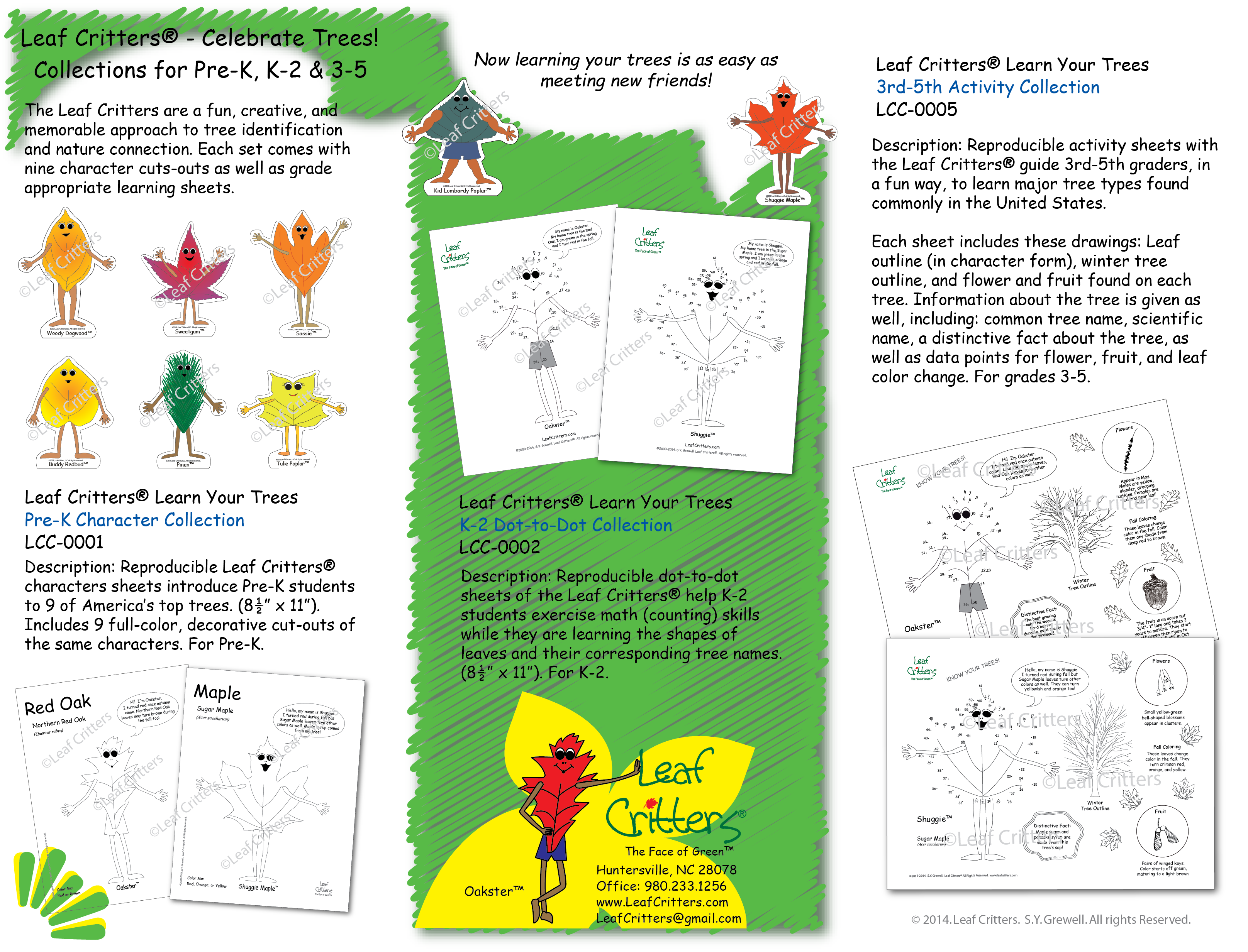 Curriculum Collections for Pre-K, K-2, and 3rd-5th Grades - Leaf ...