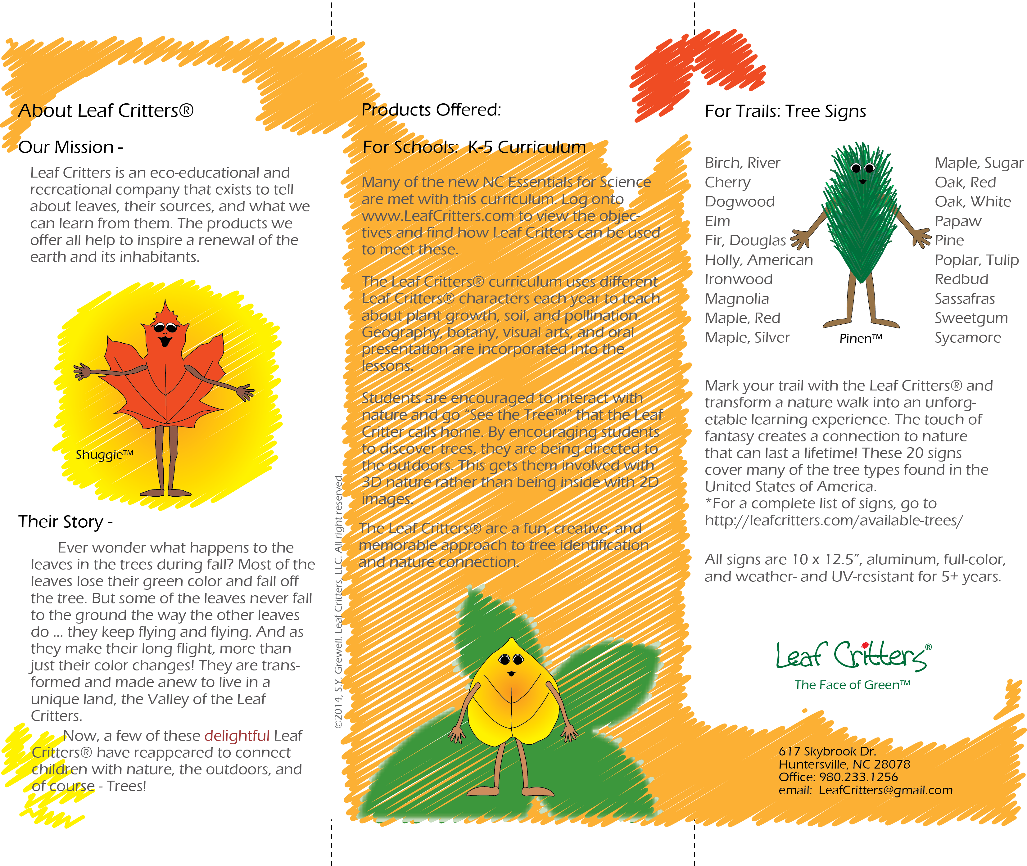 About the Leaf Critters